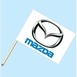 Mazda Flag/Staff Combo