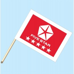 Five Star Red Flag/Staff Combo