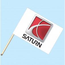 Saturn Flag/Staff Combo
