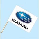 Subaru Flag/Staff Combo