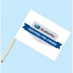 Subaru Certified Pre-Owned Vehicles Flag/Staff Combo