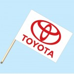 Toyota Flag/Staff Combo
