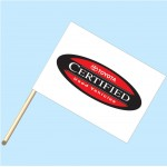 Toyota Certified Used Vehicles Flag/Staff Combo