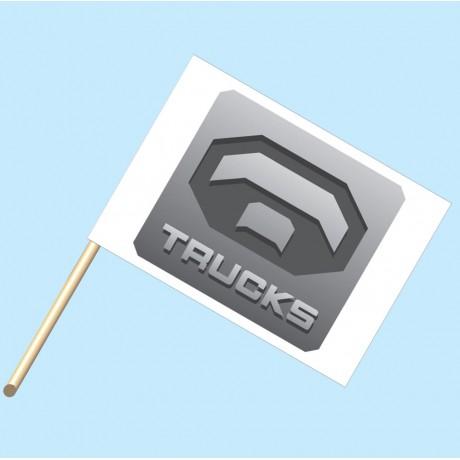 Toyota Trucks Flag/Staff Combo