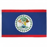 Belize 3' x 5' Polyester Flag