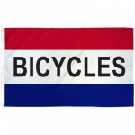 Bicycles Patriotic 3' x 5' Polyester Flag
