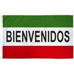Bienvenidos 3' x 5' Polyester Flag