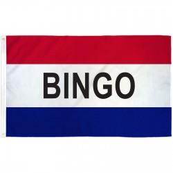 Bingo Patriotic 3' x 5' Polyester Flag