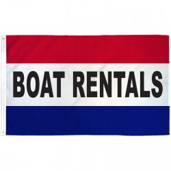 Boat Rentals 3' x 5' Polyester Flag