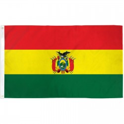 Bolivia 3' x 5' Polyester Flag