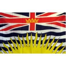 British Columbia 3'x 5' Flag