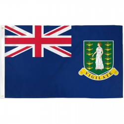 British Virgin Islands 3' x 5' Polyester Flag