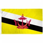 Brunei 3'x 5' Country Flag