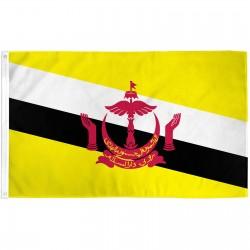 Brunei 3' x 5' Polyester Flag