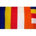 Buddhist  Religious 3'x 5' Flag
