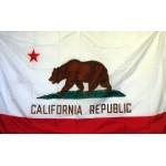 California 3'x 5' Solar Max Nylon State Flag