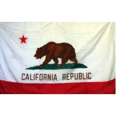 California 3'x 5' Solar Max Nylon State Flag