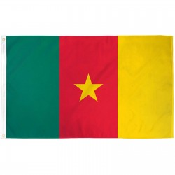 Cameroon Country 3' x 5' Polyester Flag