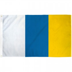 Canary Islands 3' x 5' Polyester Flag