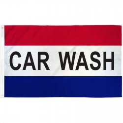 Car Wash Patriotic 3' x 5' Polyester Flag