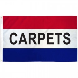 Carpets Patriotic 3' x 5' Polyester Flag