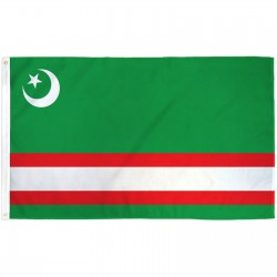 Chechnia 3' x 5' Polyester Flag