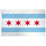 Chicago City 3' x 5' Polyester Flag