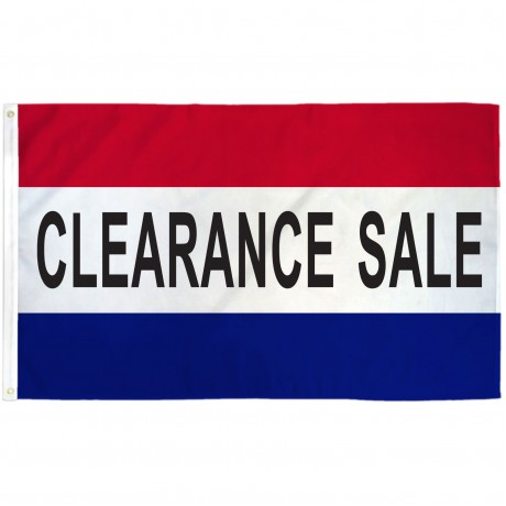 Clearance Sale Patriotic 3' x 5' Polyester Flag