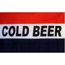 Cold Beer 3' x 5' Polyester Flag