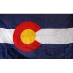 Colorado 3'x 5' Solar Max Nylon State Flag