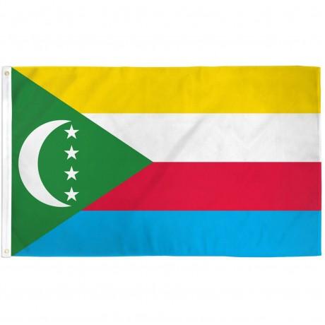Comoros 3' x 5' Polyester Flag