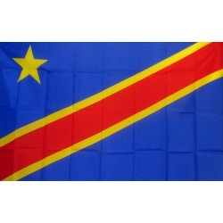 Congo International 3'x 5' Country Flag