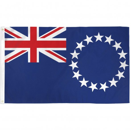 Cook Island 3' x 5' Polyester Flag