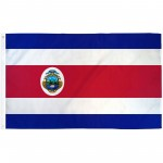 Costa Rica 3' x 5' Polyester Flag