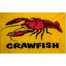 Crawfish 3'x 5' Advertising Flag