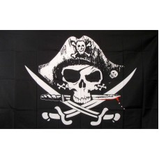 Deadmans Chest 3'x 5' Pirate Flag
