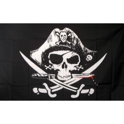 Deadmans Chest 3'x 5' Pirate Flag