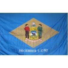 Delaware 3'x 5' Solar Max Nylon State Flag