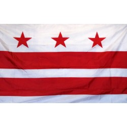 District of Columbia 3' x 5' Ny-Glo Premium Nylon Flag