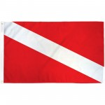 Diver 3' x 5' Novelty Flag