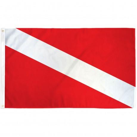 Diver 3' x 5' Novelty Flag