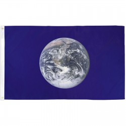 Earth From The Moon 3'x 5' Novelty Flag