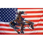 US End Of Trail Historical 3'x 5' Flag