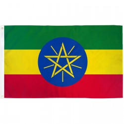 Ethiopia (New) 3'x 5' Country Flag