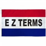 EZ Terms Patriotic 3' x 5' Polyester Flag