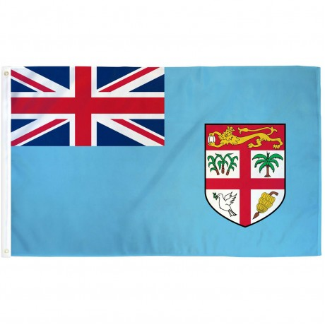 Fiji 3'x 5' Country Flag