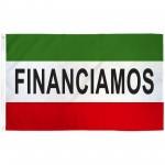 Financiamos 3' x 5' Polyester Flag