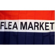 Flea Market 3'x 5' Business Flag