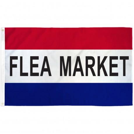 Flea Market 3'x 5' Business Flag