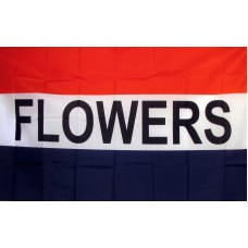 Flowers 3'x 5' Business Flag